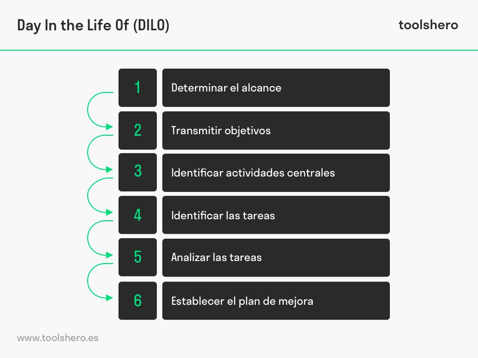 Day In the Life Of (DILO) steps - toolshero